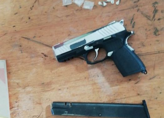 Athlone SAPS members arrest suspect for possession of prohibited firearm and ammunition