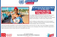 Road Safety Partnership (RSP) South Africa supports UN Global Road Safety Week