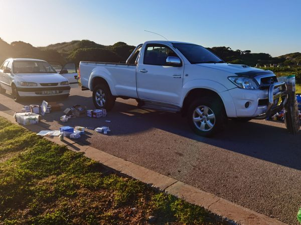 Five alleged hijacking suspects in custody and stolen property recovered