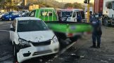 Two injured in a two-vehicle collision in Durban