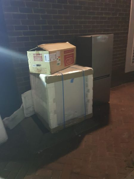 Appliances recovered from looters after tip-off