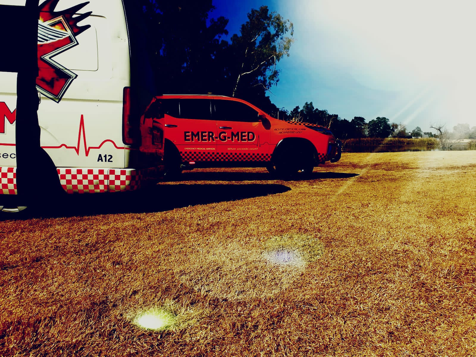 Cyclist injured in a fall at Benoni Country Club
