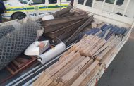 An intelligence-driven operation yields positive result as man arrested with stolen building material