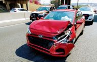 One injured in Sunninghill collision