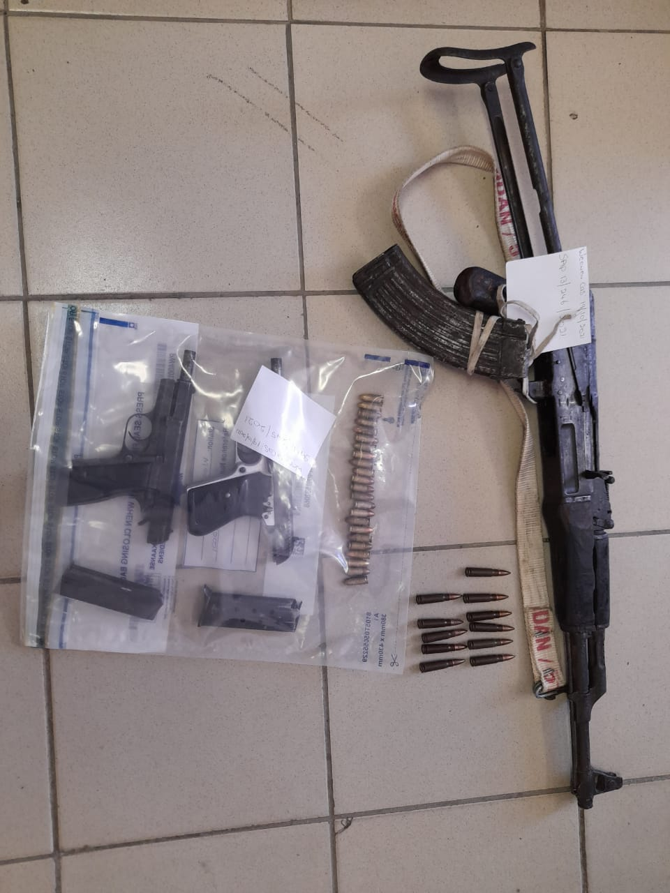 Two men nabbed with firearms after negotiating lobola
