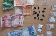 Two suspects arrested for dealing in drugs